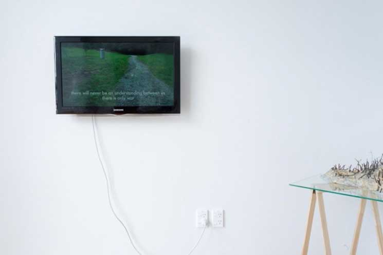installation image from Public Good at Ramp Gallery, Hamilton